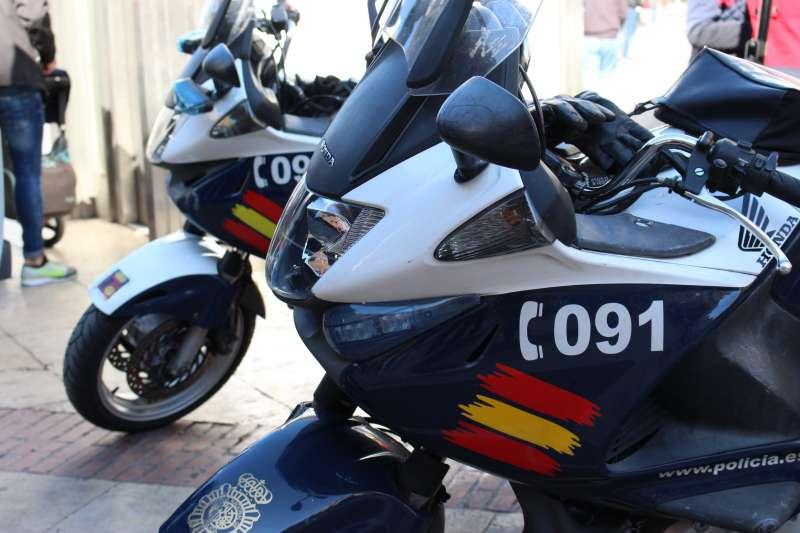 Motos de la Policía Nacional. EPDA.