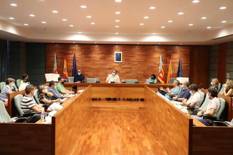 Reunión directos centros escolares Torrent./ EPDA