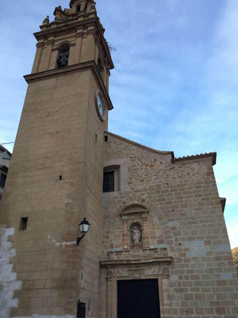 Templo de Nuestra Señora de los Ángeles. / JSMS.