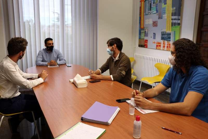 Reunión con la Conselleria de Vivienda