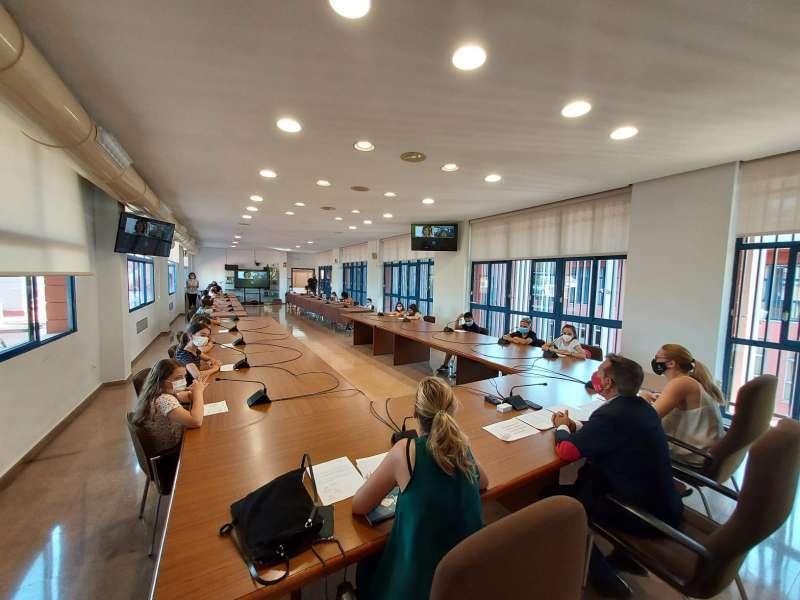 Pleno Xirivella./Foto archivo EPDA