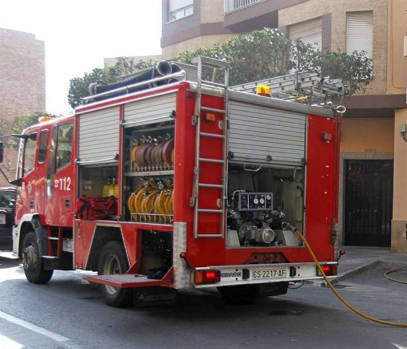 Archivo de un camión de bomberos / EFE