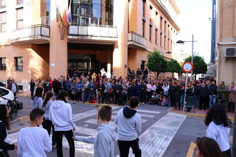Acto del 25N en Albal. EPDA