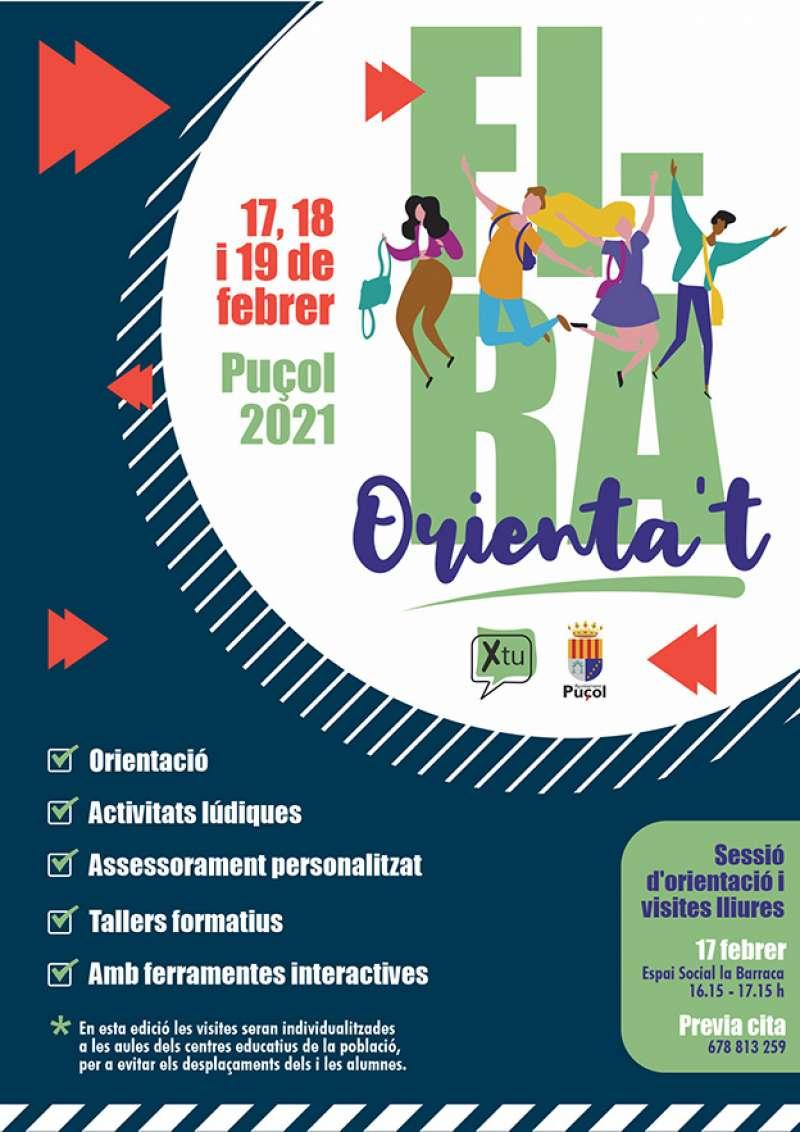 Cartel de la Feria del Estudiante.