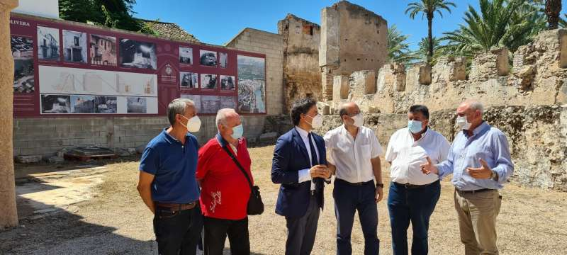 Visita de Francesc Colomer a Alzira./EPDA