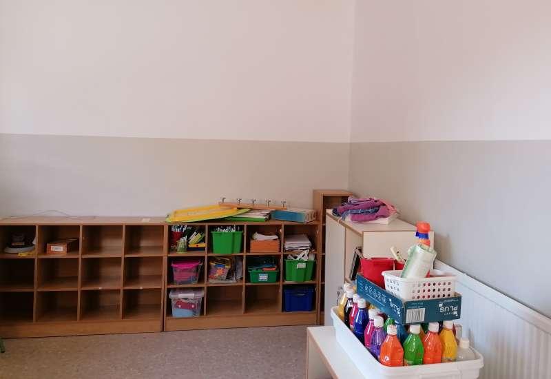 Interior de un aula