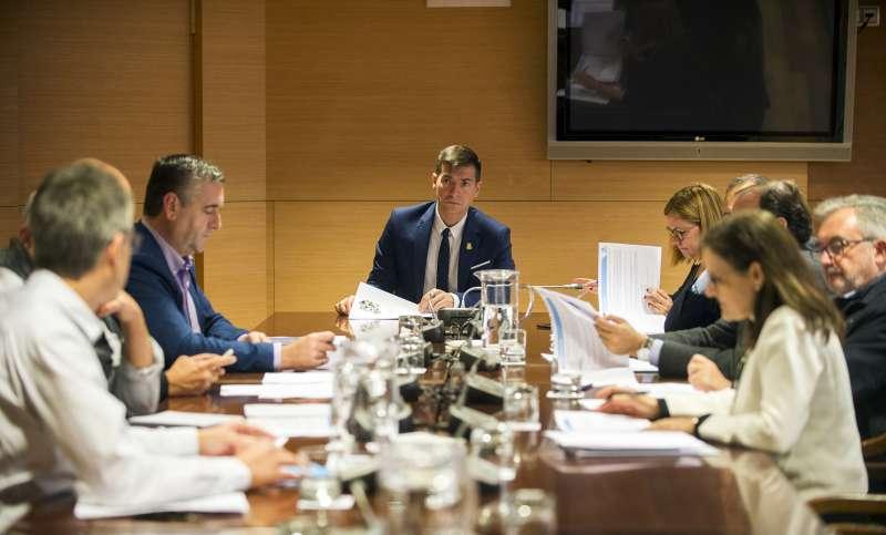 García preside el consejo de Egevasa. EPDA