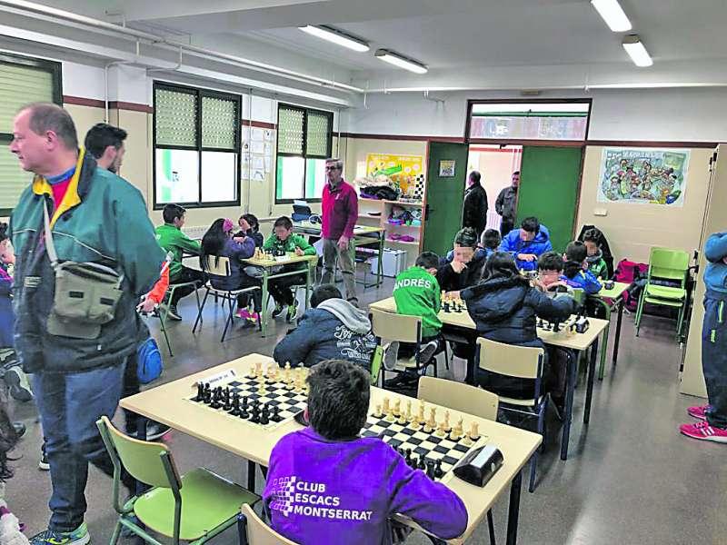 Jornada de ajedrez en Marines. /EPDA
