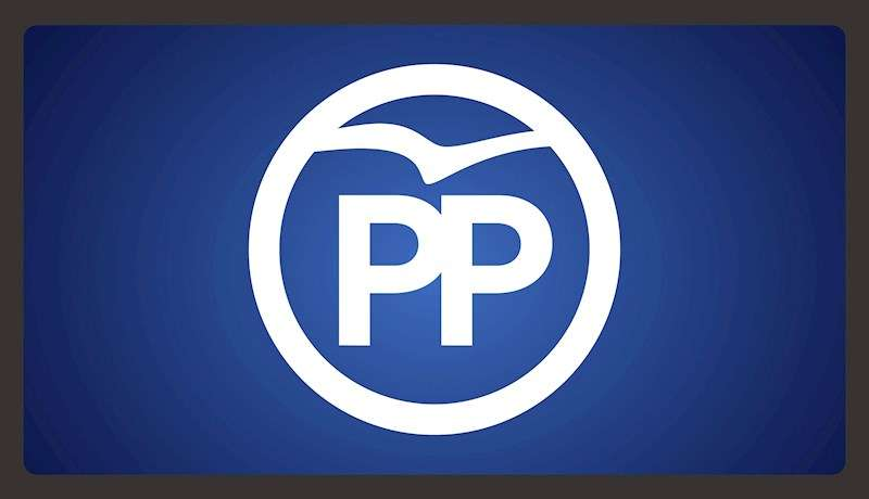 Imagen de archivo del logotipo del PP. EFE/Archivo
