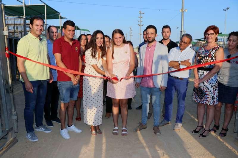 Inauguració del recinte firal de Sagunt. AJUNTAMENT DE SAGUNT