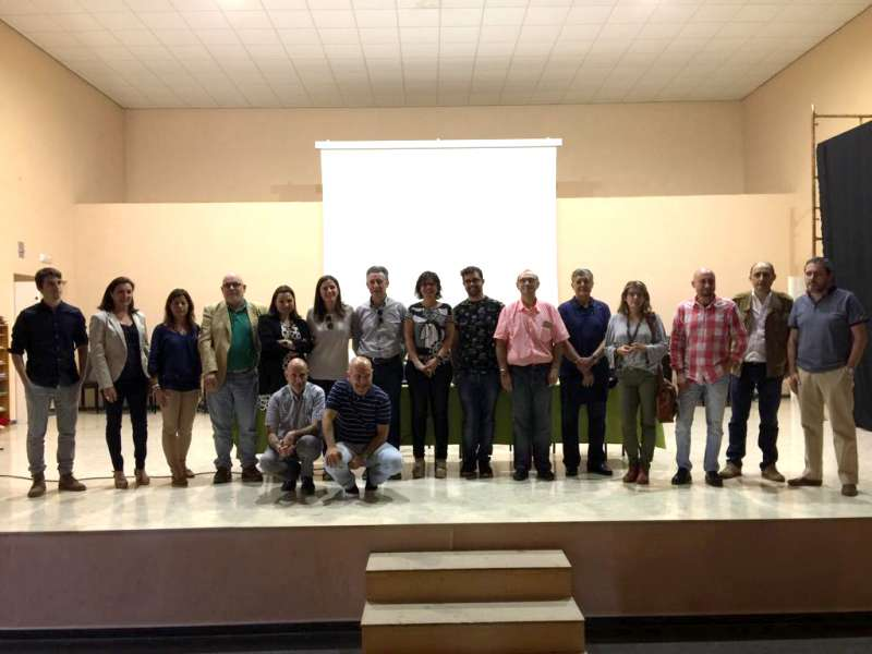 Asistentes a la primera reunión del Proceso Participativo del Diagnóstico del Pacto Territorial por el Empleo y Desarrollo Local del Camp de Morvedre. EPDA