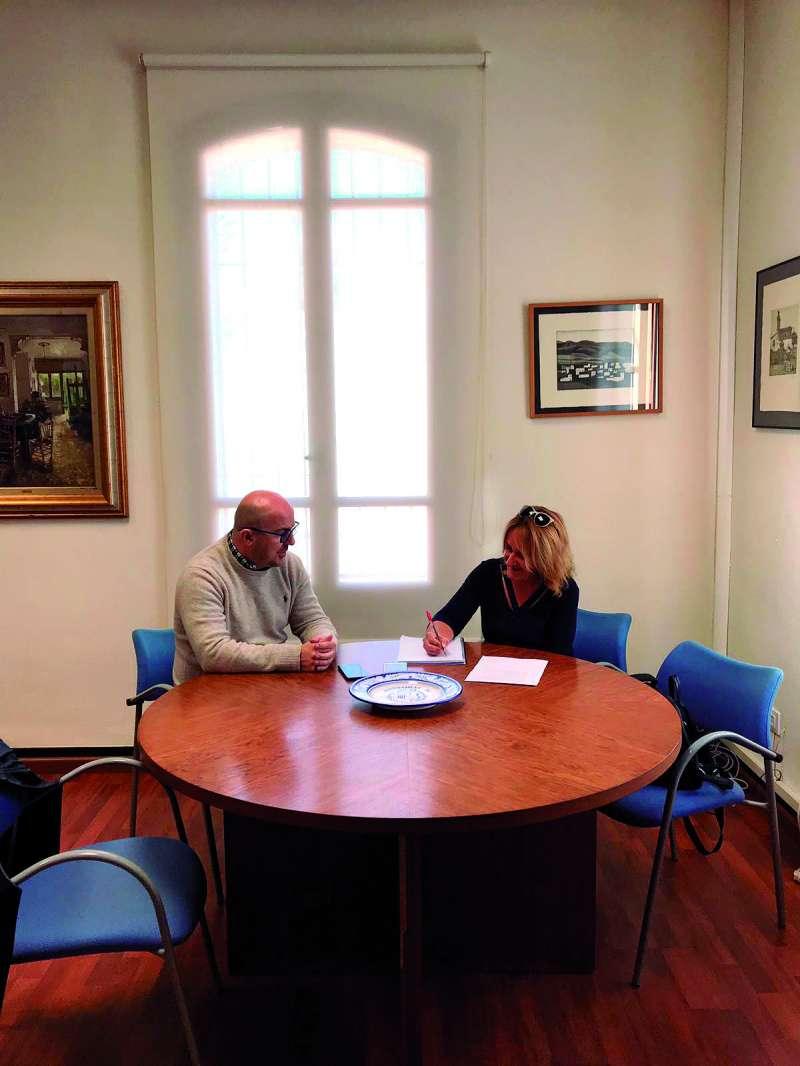 Guillermo José Gimeno explica sus planes para esta localidad de l?Horta Nord. / EPDA