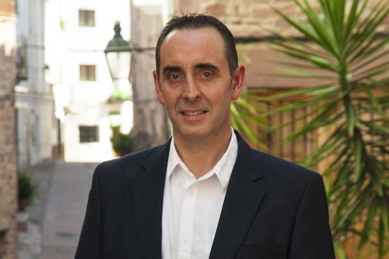 Abel Ibáñez, alcalde de Vilafamés