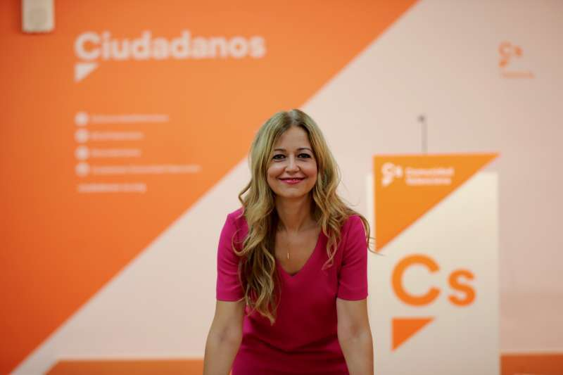 La Secretaria de Organización de Cs en la Comunitat Valenciana, Teresa Ortiz.