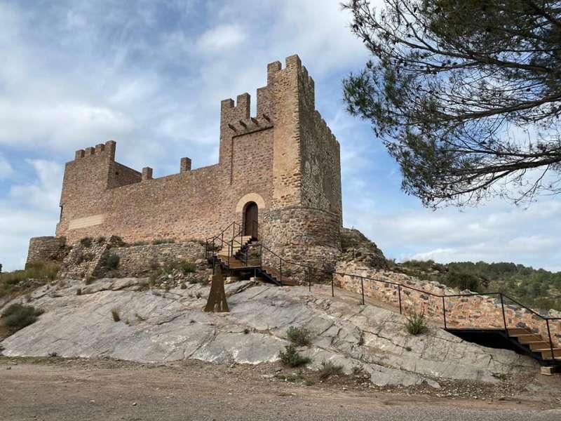 El castillo, un gran atractivo para Gaibiel