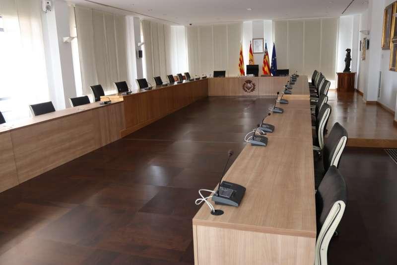 Nova bancada del saló de plens/EPDA