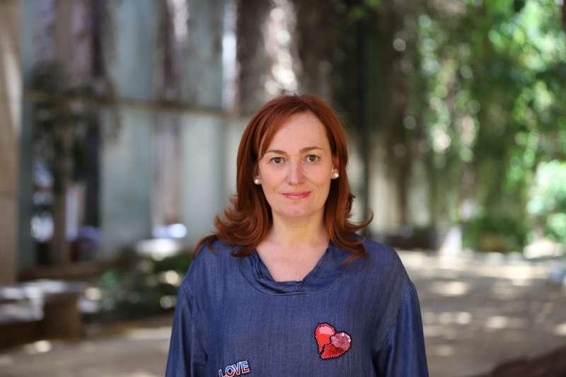 La diputada Patricia García