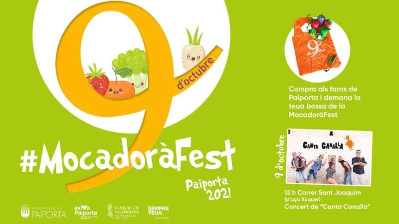 Cartell el Mocadorà Fest a Paiporta.