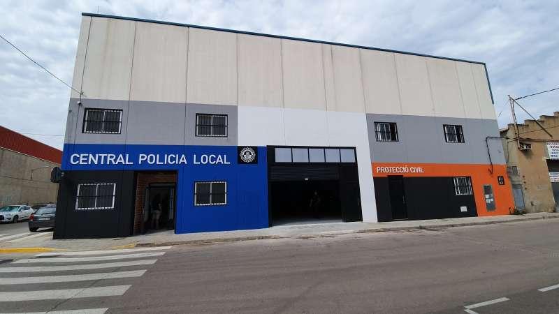 Dependencias de la Policía Local. / EPDA