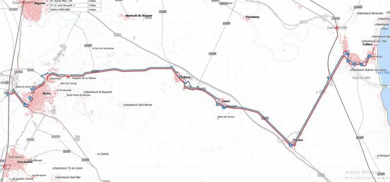 Línea 3 de la CV-110 (La Ribera)