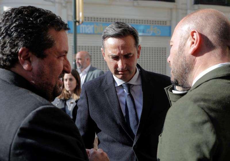 Los hasta el momento presidentes de las Diputaciones provinciales de Castellón, Alicante y Valencia. EFE/Archivo