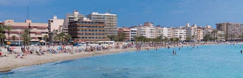 Playa de Levante de Santa Pola. TURISMODESANTAPOLA