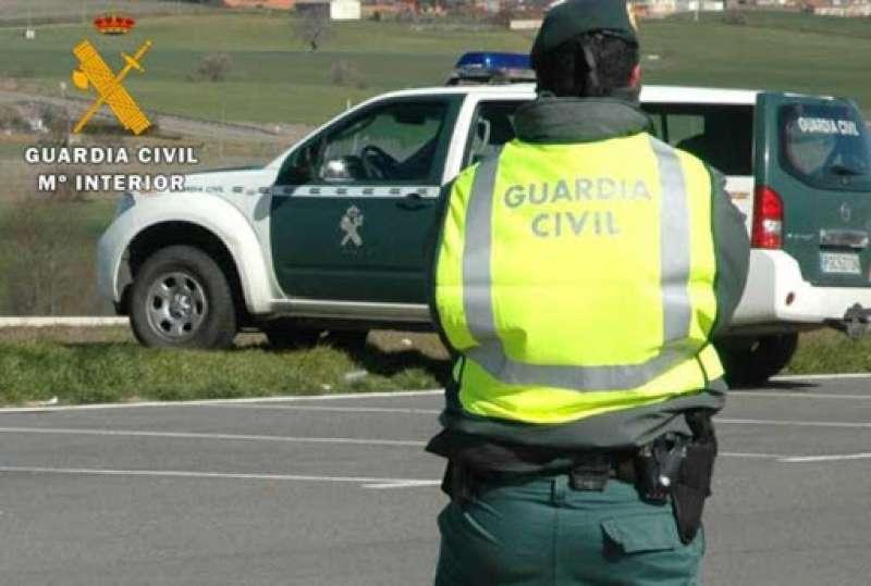 Guardia Civil en Puzol