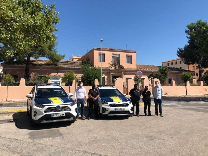 Kia Niro Policía Local de Requena./ EPDA