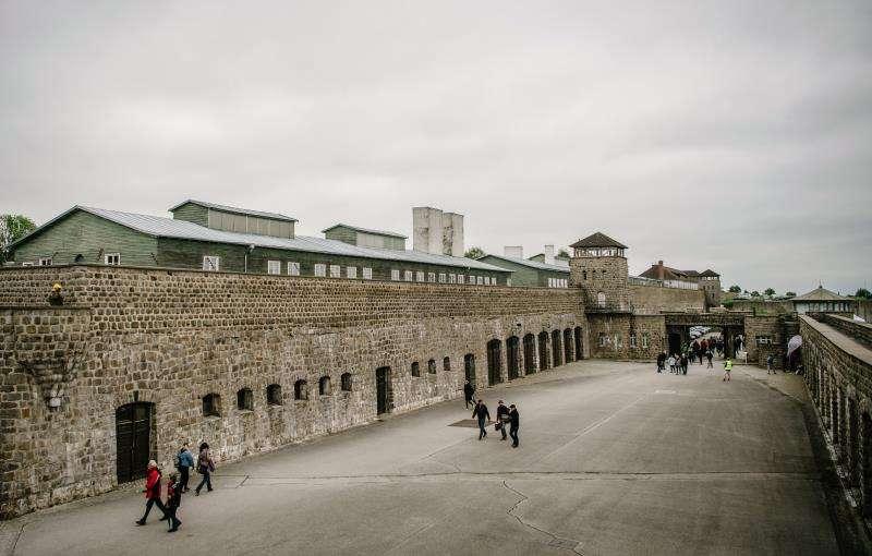 Imagen de archivo del campo de concentración nazi de Mauthausen.EFE/Archivo