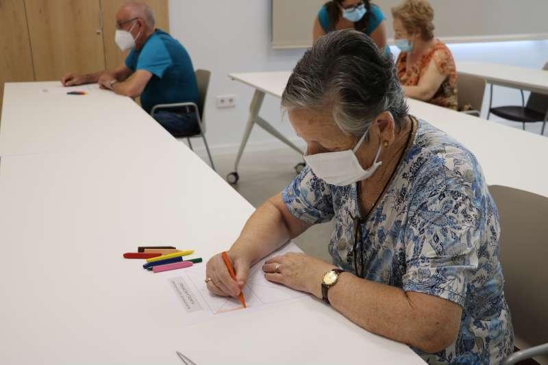 Ejercicios destinados para personas mayores