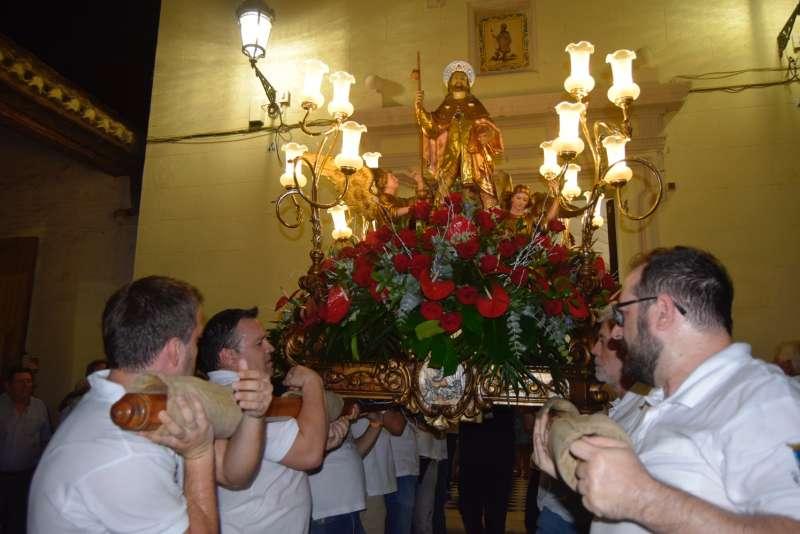 Imagen de archivo de las fiestas de Burjassot. EPDA