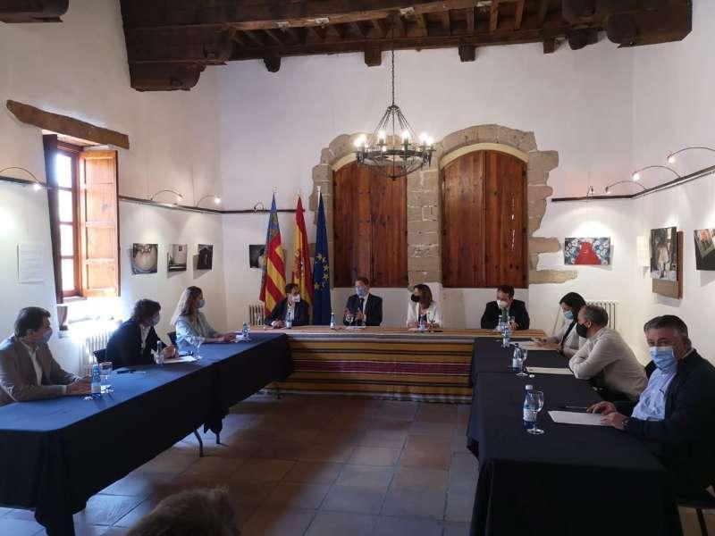 Reunión en Villafranca