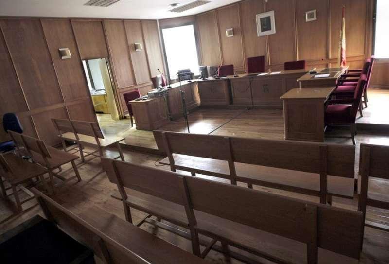 Un juzgado. EFE