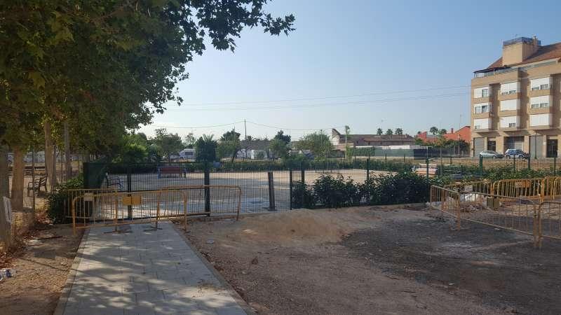 Nueva zona de socialización de perros en Castellar. EPDA
