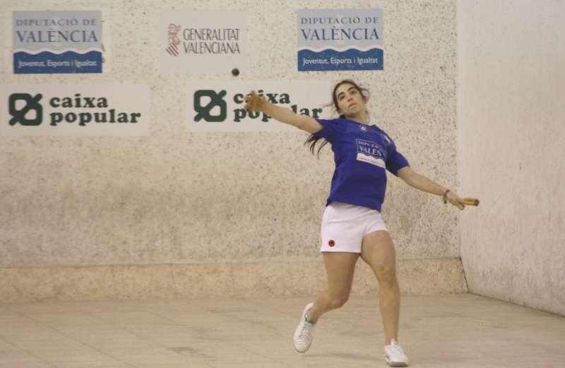 La jugadora Victoria de Valéncia. EPDA