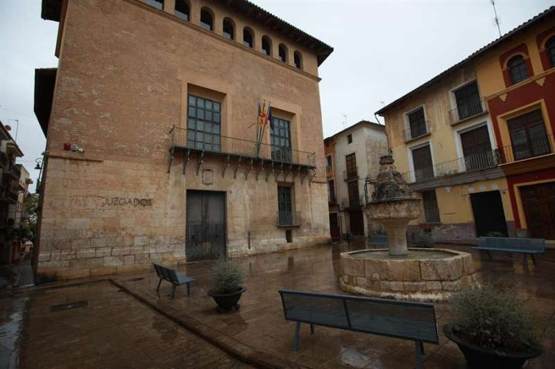 Juzgados Xàtiva. Foto archivo EFE