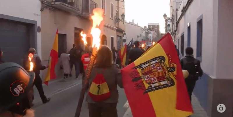 Protesta en Benimaclet. EPDA