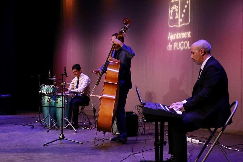 Una de las actuaciones de los premios. EPDA