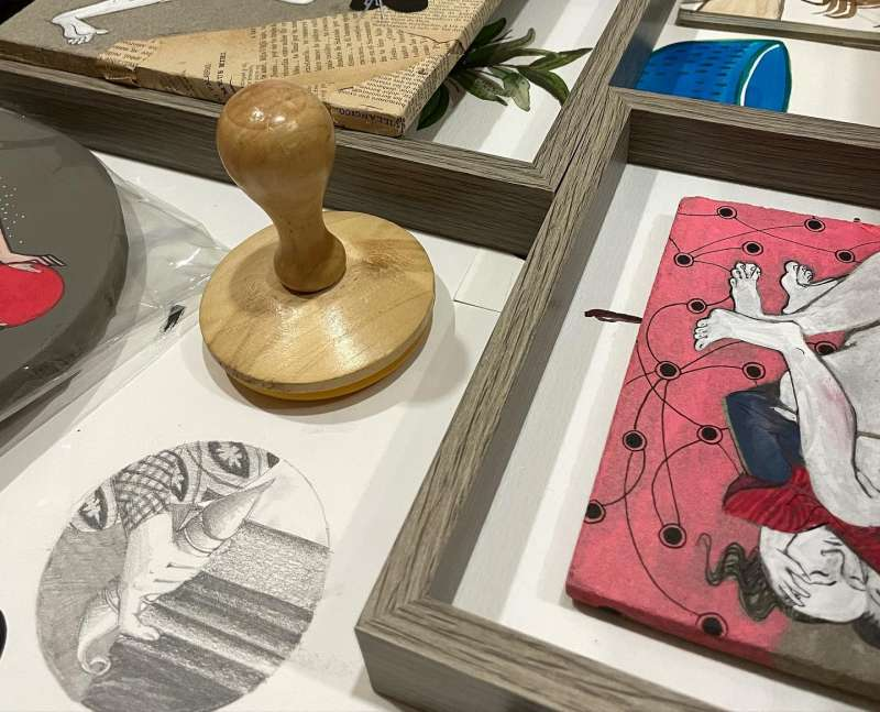 Exposició Mai Hidalgo./EPDA