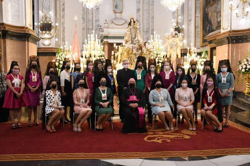 El obispo ha presidido la ceremonia