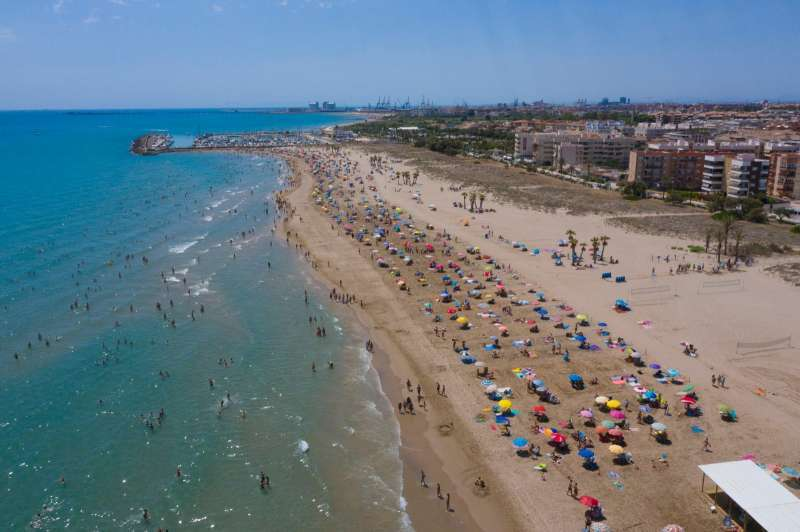 Playa de Canet. EPDA
