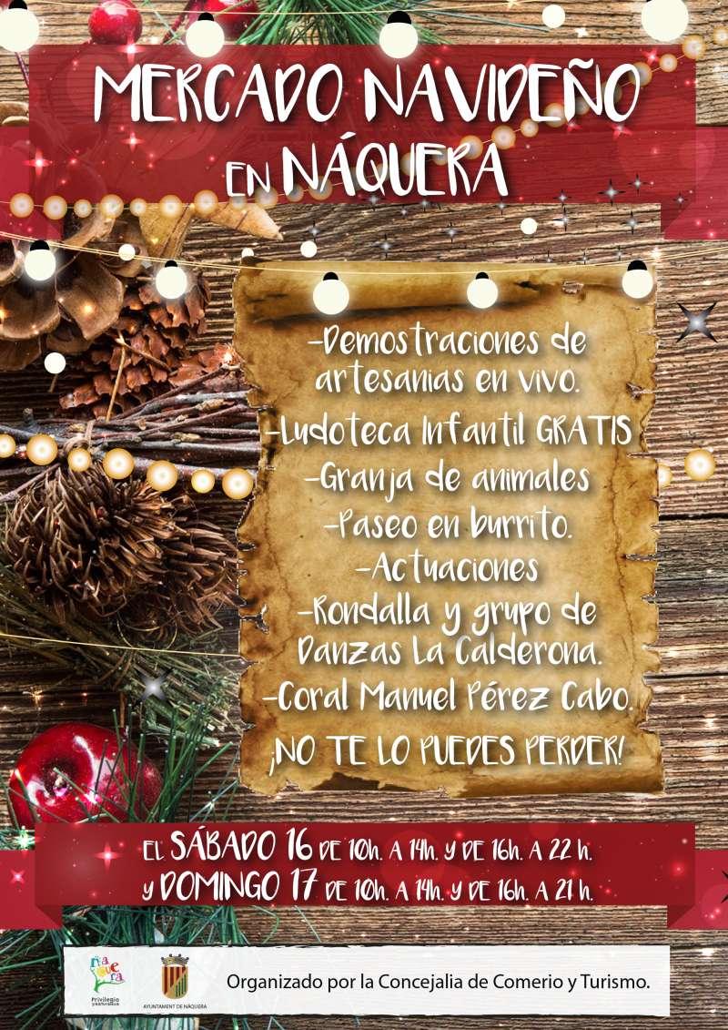 Cartel Mercado Navideño