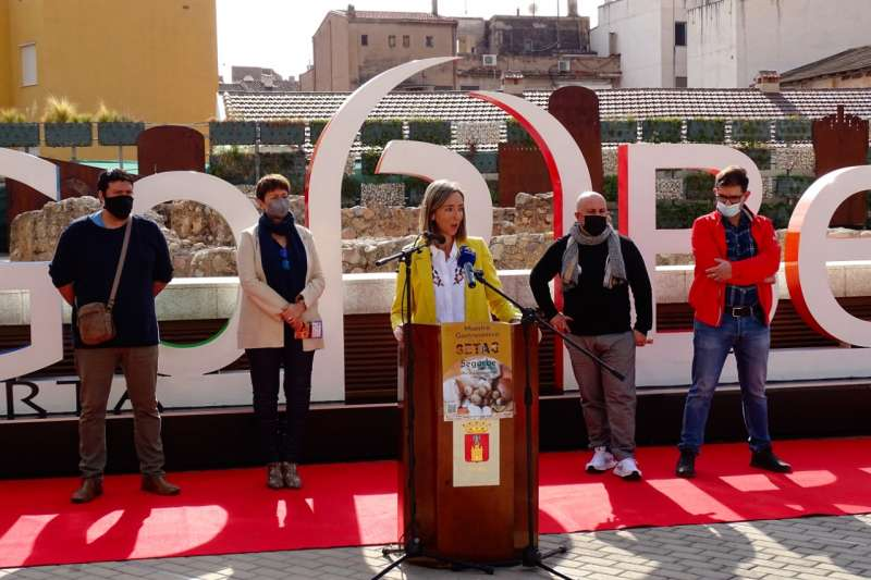 La concejala de Turismo en la presentación de las jornadas