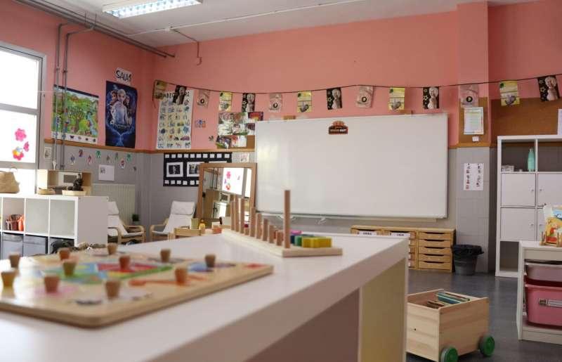 Nueva aula en Xirivella. EPDA
