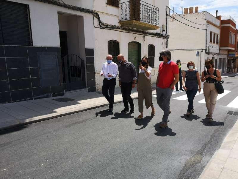 Visita a la calle Xacó/EPDA