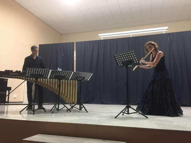 Concert de Fluxion Duet. EPDA