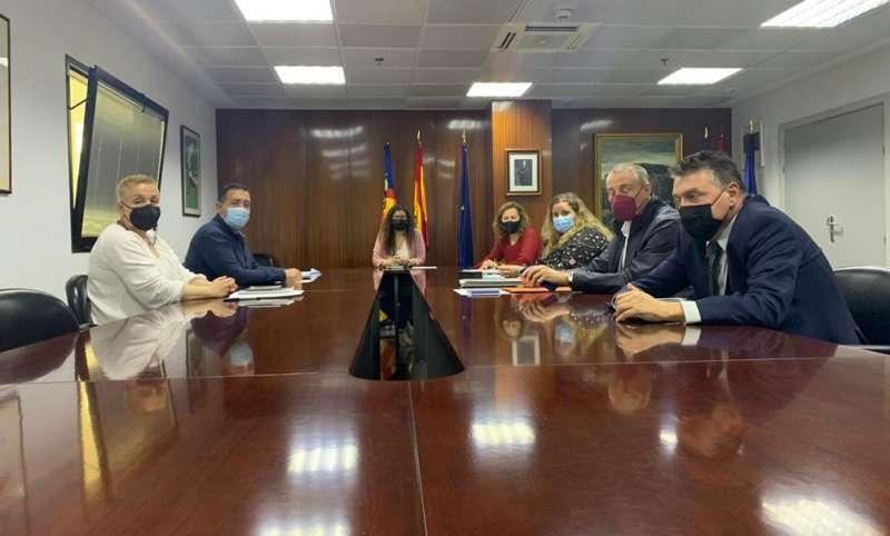 Reunión con representantes taurinos