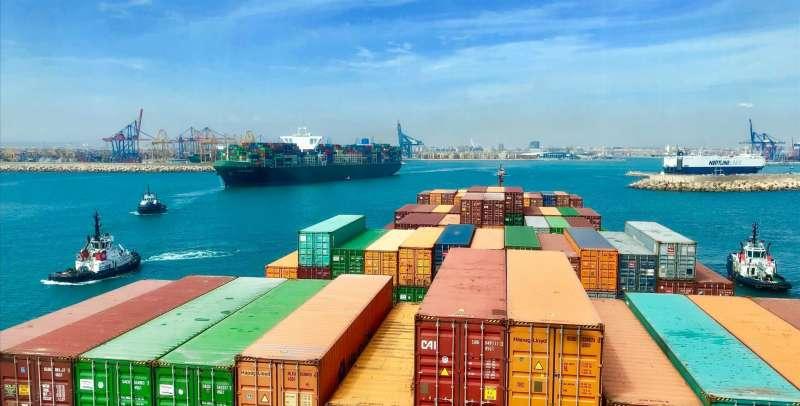 Imagen de la terminal del Puerto de Valencia. Manuel Menéndez