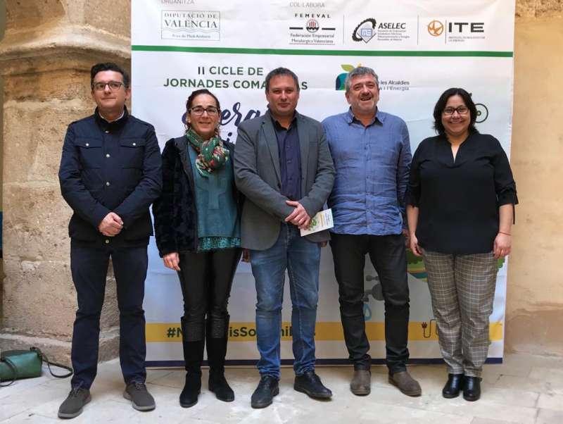Bort, en la jornada comarcal en Albalat dels Sorells. EPDA