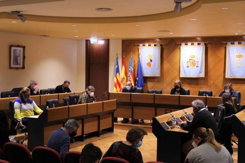 Pleno del Ayuntamiento de Burriana